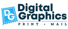 Digital Graphics Secure Print & Mail Mobile Logo