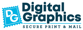 Digital Graphics Secure Print & Mail Sticky Logo